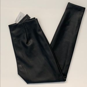 Banana Republic faux leather leggings NWT